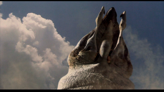 The majestic white wha--er, graboid.